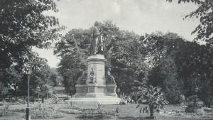 Humlegården, vykort från 1915