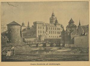 Gamla Stockholm under byggnation